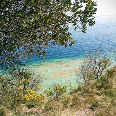 Vista sul lago di Sirmione
